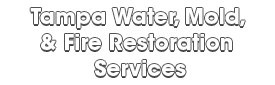 Tampa Water, Mold, & Fire Restoration Services_wht-We do home restoration services like Servpro such as water damage restoration, water removal, mold removal, fire and smoke damage services, fire damage restoration, mold remediation inspection, and more.
